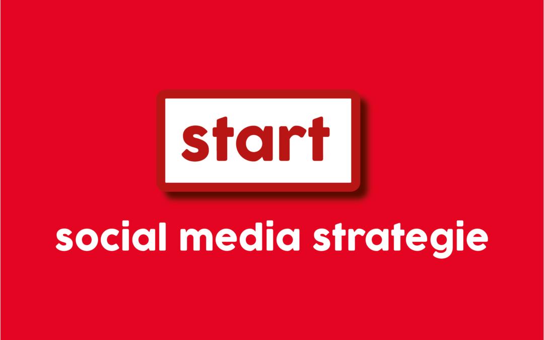 Maak een start met je persoonlijke social media strategie